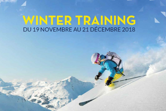 Winter Training Aqua